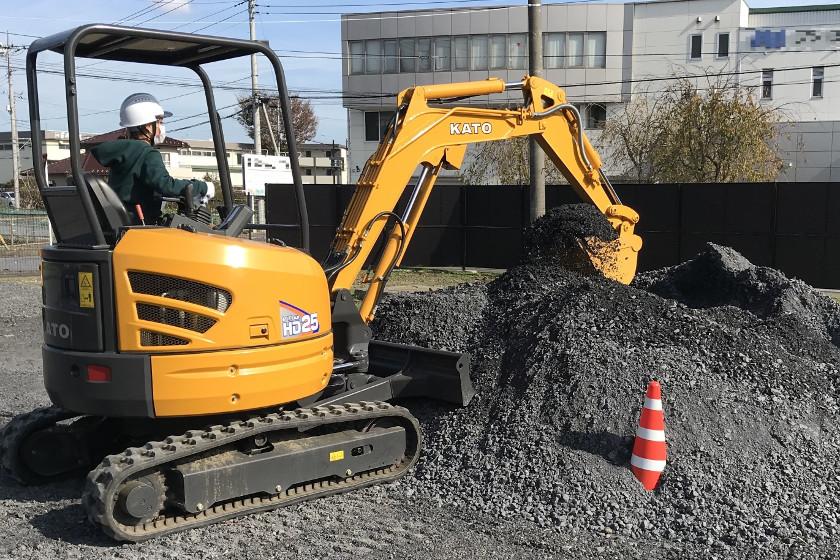 小型車両系建設機械(整地)特別教育 加藤製作所